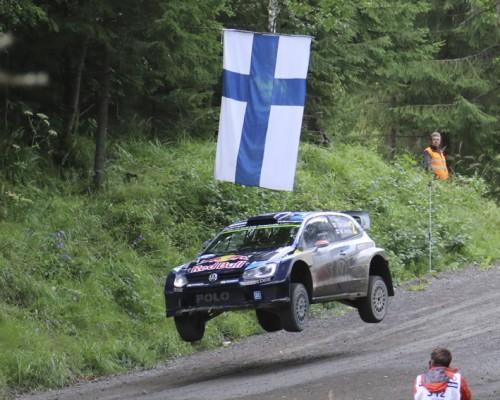 Latvala on matkalla kohti kolmatta voittoaan Jyväskylässä. Kuva: Hannu Kumpulainen