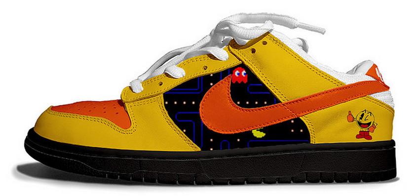 Pac-Man-Nike-Dunks-Tennis-Shoes