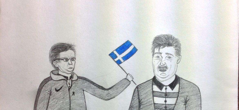 Hans Backe ja Pertti Alaja piöakuva
