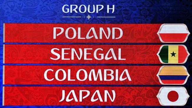 Jalkapallon MM-kilpailut lohko H