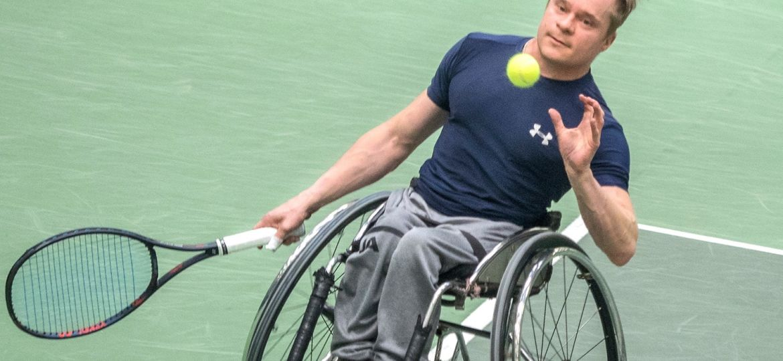 Paraurheilu tennis Tenhunen