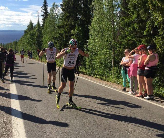 Rullahiihto Aateli Race Vuokatti 2019