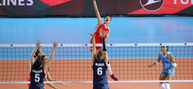 Lentis lentopallo naiset FIVB