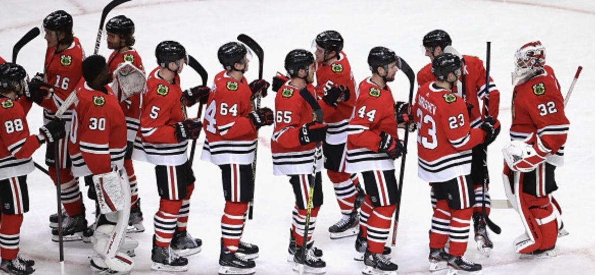 Kevin Lankinen NHL Chicago Blachawks 28