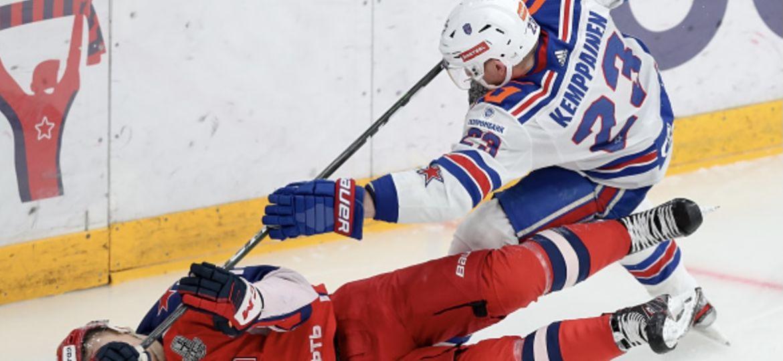 Joonas Kemppainen KHL SKA TsSKA