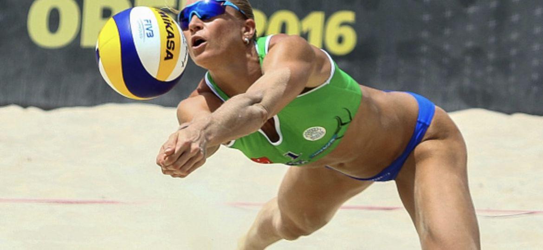 Riikka Lehtonen Beach Volley rantalentis