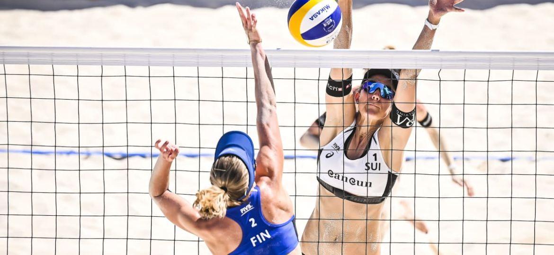 Riikka Lehtonen Niina Ahtiainen beach volley