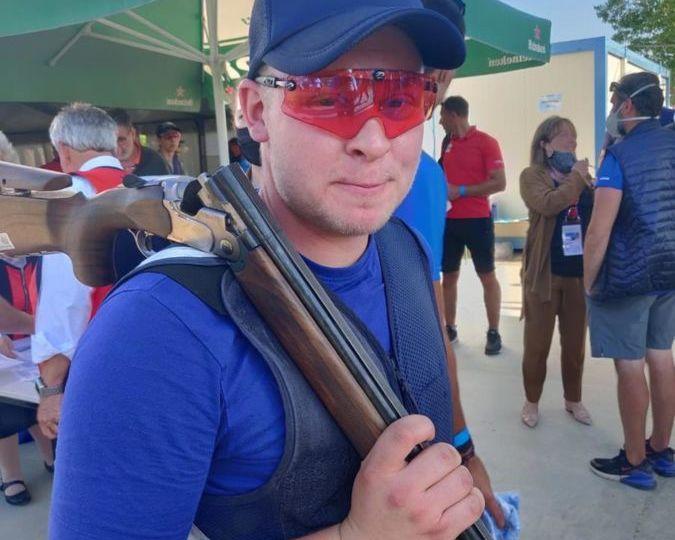 Eetu Kallioinen skeet ammunta ampuminen