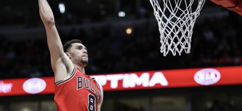 Chicago Bulls NBA Zach LaVine 22