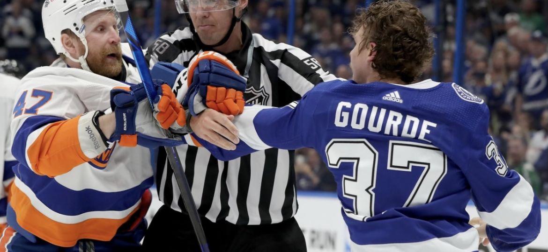 NHL Tampa Islanders Leo Komarov