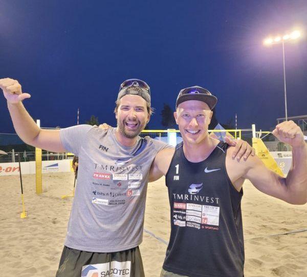 Lentopallo beach volley