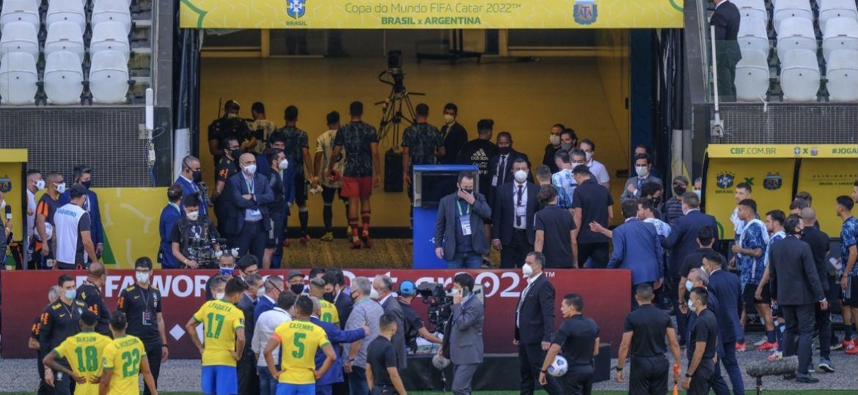 Brasilia Argentiina keskeytettiin